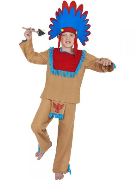 Dětský kostým Indián - Půjčovna kostýmů 2220a43bd3
