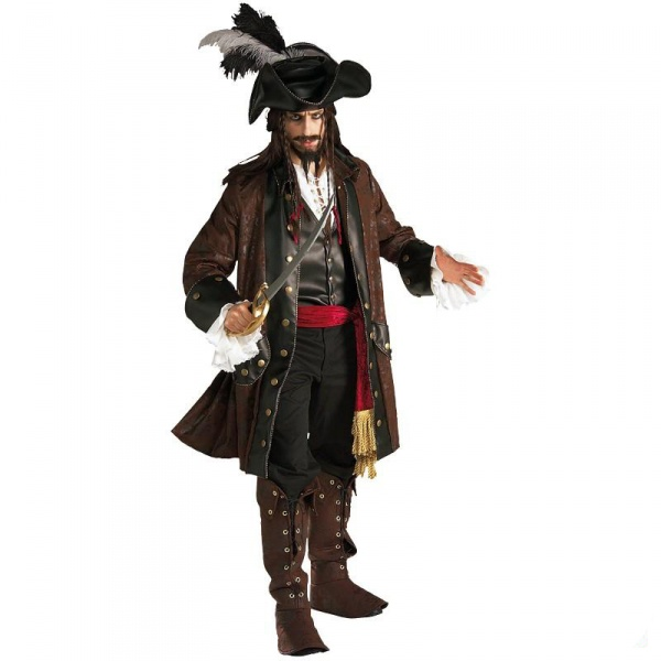 Kostým Pirát z Karibiku Super Deluxe - Půjčovna kostýmů 89bf49ef163