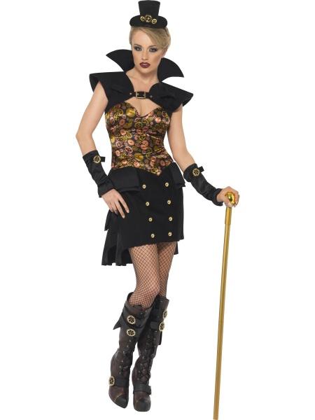 Kostým Viktoriánská Vampírka - Steam Punk. Úvod   Karnevalové kostýmy ... 3e439440b4a