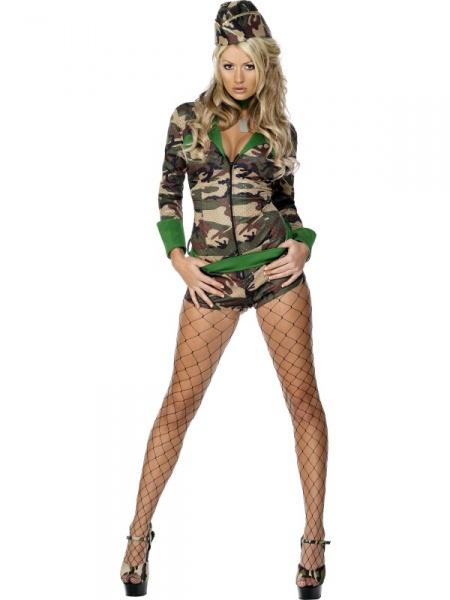 Kostým Sexy vojanda. Úvod   Karnevalové kostýmy ... f89ced8f00a